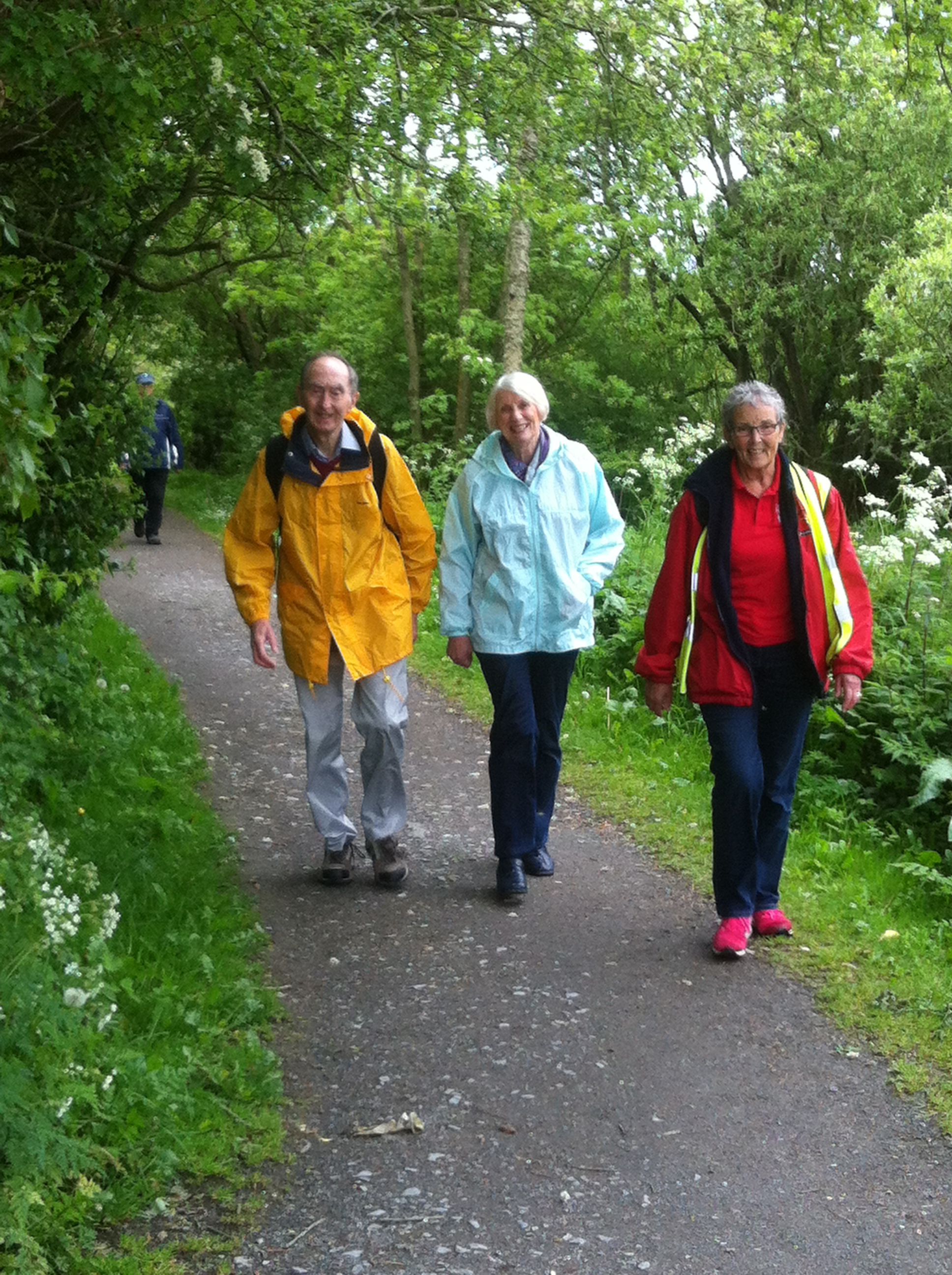 Details of our walking club